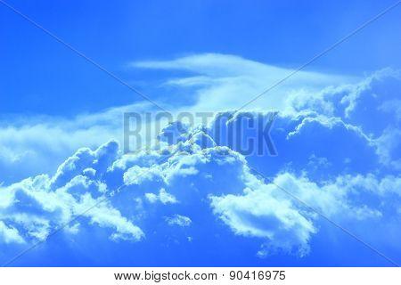 Beautiful Blue Clouds