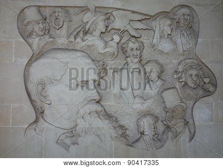 Charles Dickens Mural