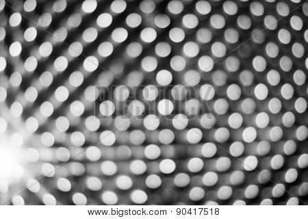 Abstract Grey Silver Blur Background