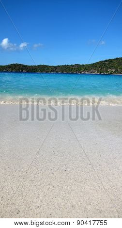 Scenic Coki Beach on the Island of St. Thomas