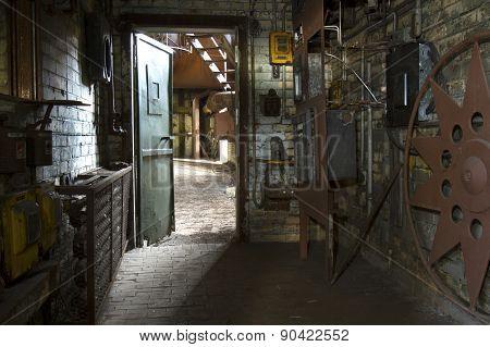 Workroom In Old Factory
