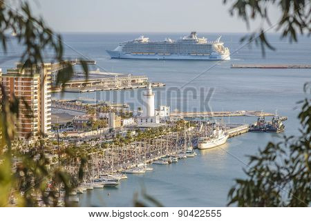 Allure Of The Seas In Malaga