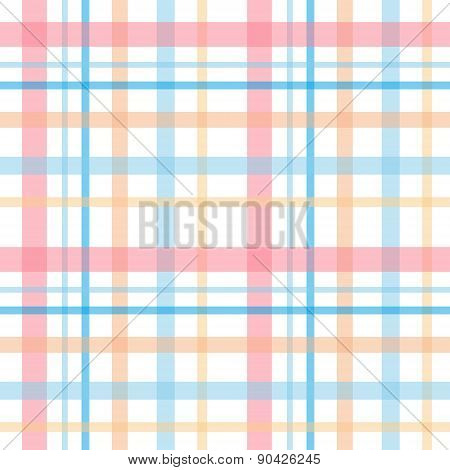 Checkered seamless plaid pattern background