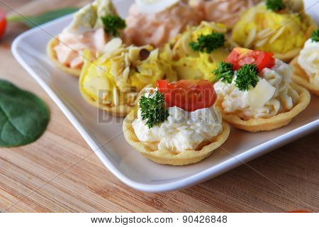 Tartlet With Cream