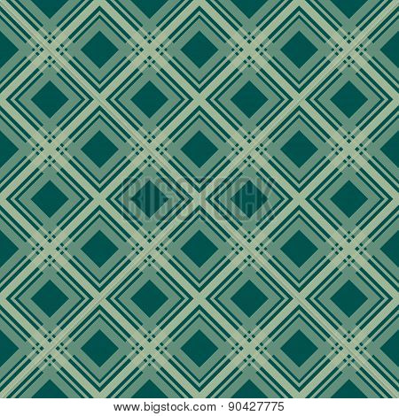 Green checkered seamless pattern repeat design