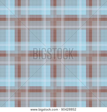 Seamless textile tartan checkered texture plaid pattern background