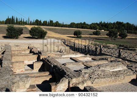 The Larger Baths, Italica.
