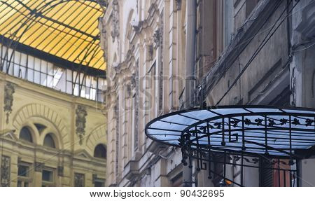 Glass Roofs (macca-villacrosse Passage-bucharest,romania)
