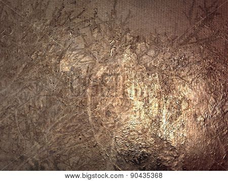 Pattern Of The Copper Surface Background