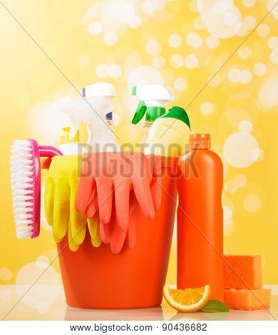 Hygiene cleanser in bottles