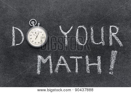 Do Your Math