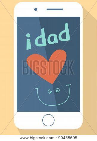 i dad love