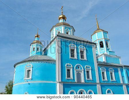 Russia, Belgorod: Orthodox Smolensky Cathedral.