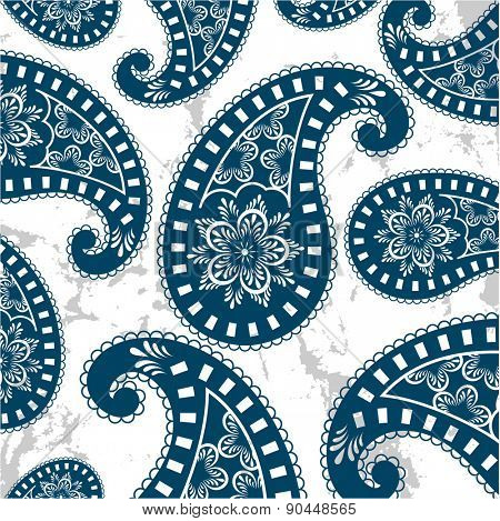 Paisley pattern - separate elements for other uses