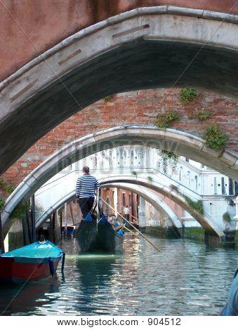 Venice Under Bridge
