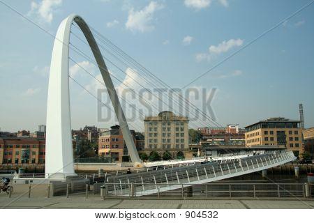 Newcatle Millenium Bridge