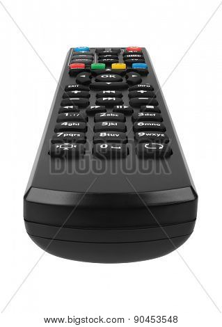 Remote control isolated on white background