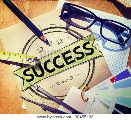 Success Achievement Competition Goals Growth Concept