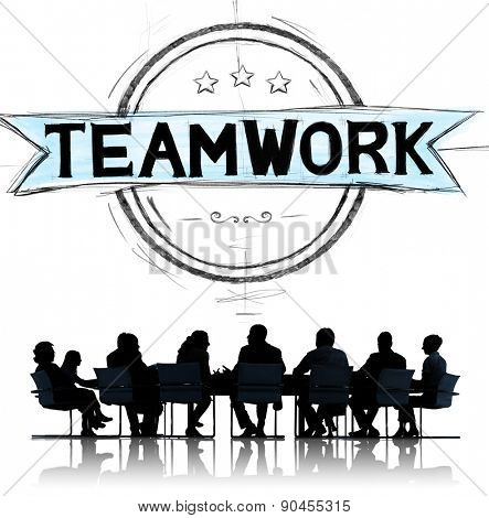 Teamwork Team Collaboration Cooperation Community Concept