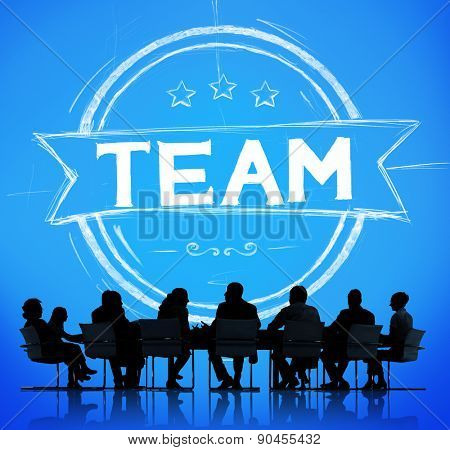 Team Teamwork Collaboration Cooperation Community Concept