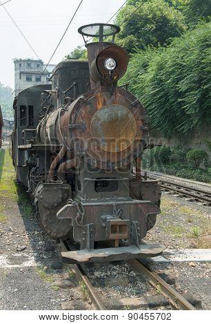 narrow gauge railway,China's Sichuan province.
