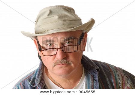 Older Man In A Hat