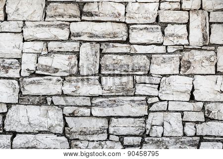Slate stone wall -Background texture