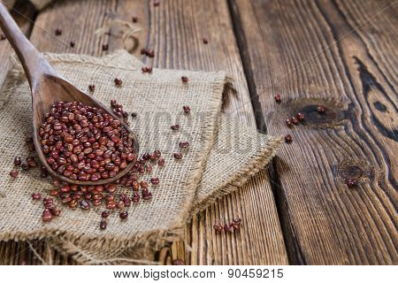 Heap Of Dried Red Beans