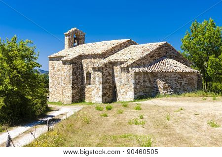 Chapel St. Jean de Crupies, Rhone-Alpes, France