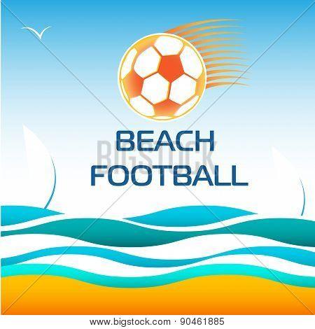 Beach Soccer Football