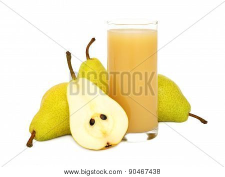 Pear Juice (isolated)