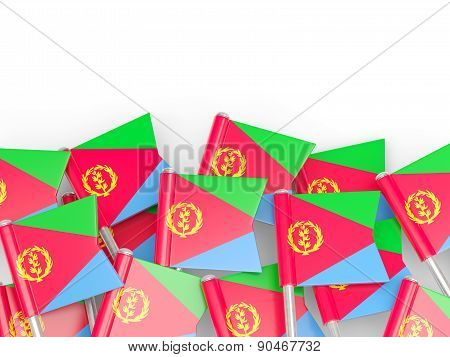 Flag Pin Of Eritrea