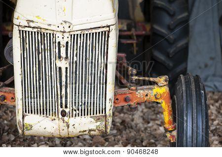 Vintage Farm Tractor