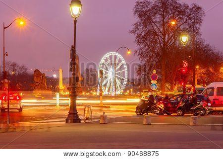 Paris. Place De La Concorde.