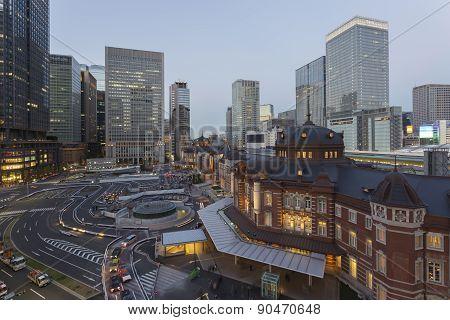 Tokyo Train Station, Tokyo City, Japan