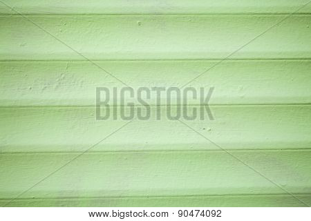Wooden Green Walls