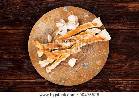 Pizza Bread, Rustic Style.