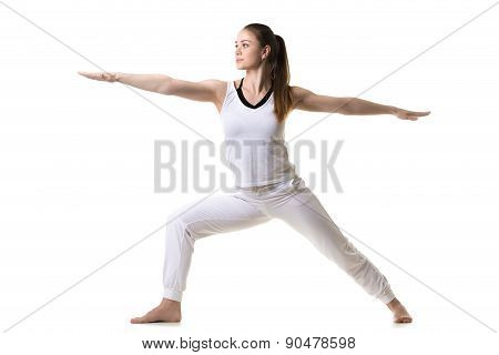 Yoga Pose Warrior 2
