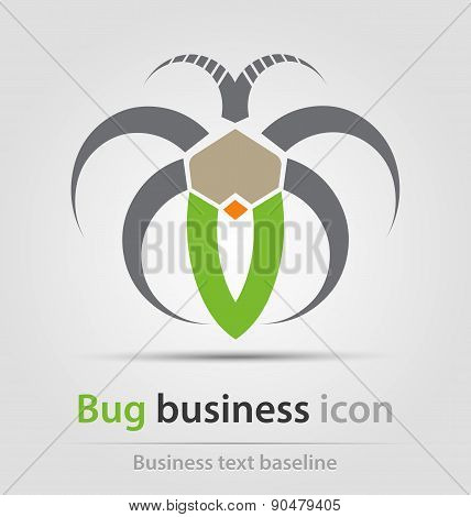 Originally Created Bug Business Icon