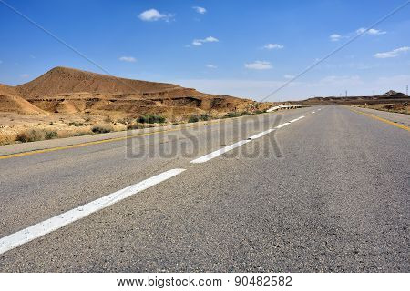 Road In The Desert