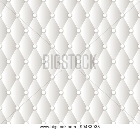 Vector abstract white upholstery background.