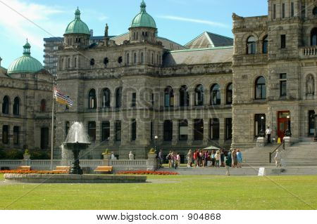 Tourists At The Legislature