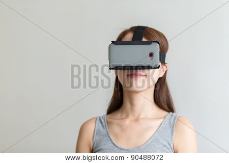 Person using Virtual Reality Headset