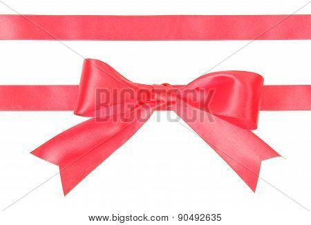 Shiny satin ribbon