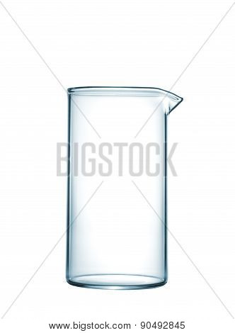 Isolated Chemical Beaker On Table