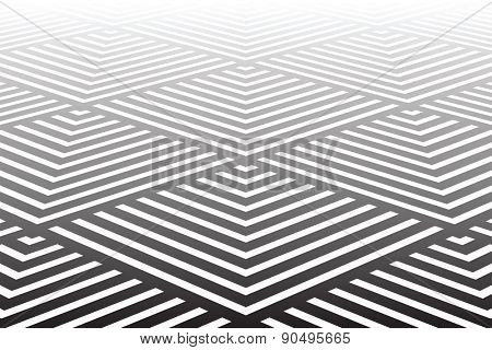 Geometric textured background. Vector art.