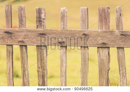 Primitive Wood Fence