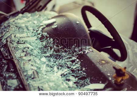 It Is Clear Glass Repair Or Auto Accident.