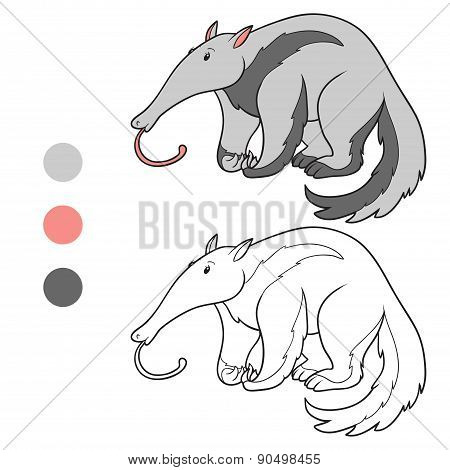 Coloring Book (anteater)