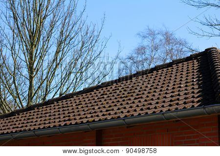 The Roof Of The House And The Sky